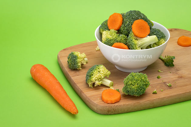 broccoli and carrot photo